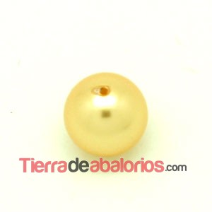 Perla Swarovski 8mm Crystal Gold