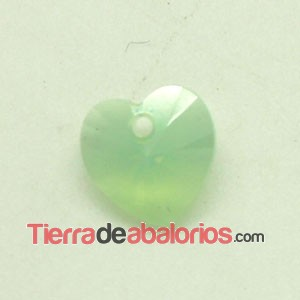 Corazon Swarovski 10,3x10mm Chrysolite Opal