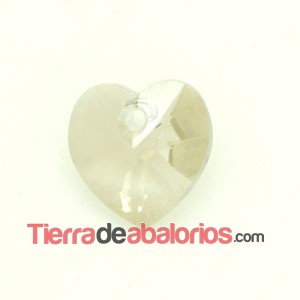 Corazon Swarovski 10,3x10mm Silver Shade