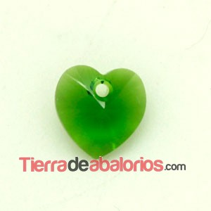 Corazon Swarovski 10,3x10mm Fern Green