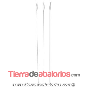 Aguja de Enfilar Flexible Beadalon Medium