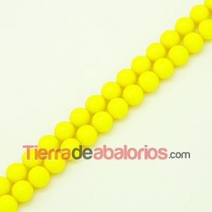 Perla Swarovski 8mm Crystal Neon Yellow