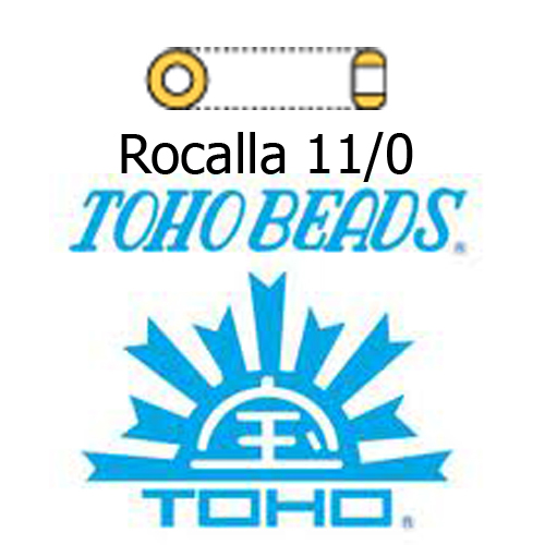 Rocalla Toho Beads